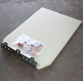 Wacker Neuson Paving Mat Kit for 350mm Plate 0400670. Fits Wacker Neuson WP1540A 0630017, WPP1540A 630025, WPP1540AW 630026 Wacker Plates