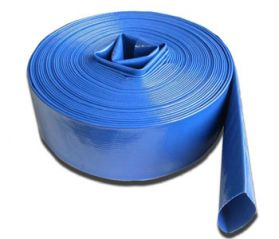 2 Inch 50mm Lay Flat Discharge Hose - 10 Metre Roll For 2 Inch Pumps