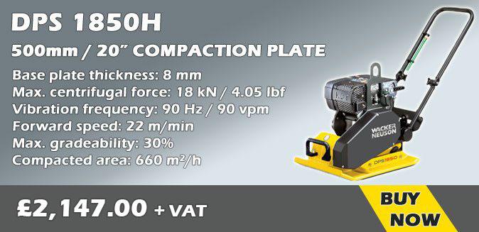 Wacker Neuson DPS 1850H Compaction Plate