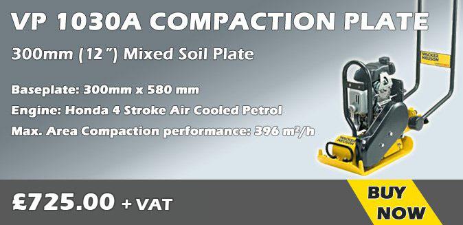 Wacker Neuson VP1030A Compaction Plate